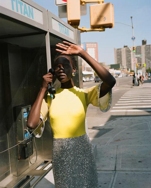 """""""ניו יורק זה מקום לא ספונטני"""". קולקציית אביב-קיץ 2018 של אלון ליבנה (צילום: דודי חסון)"""