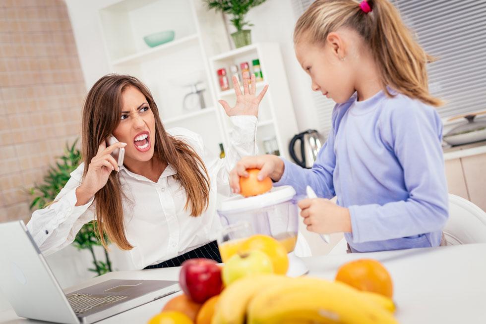היה לכם בוקר לחוץ ולא הספקתם? רגשות האשמה מיותרים ולא מועילים (צילום: Shutterstock)
