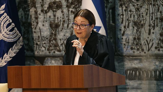 Supreme Court President Esther Hayut (Photo: Ohad Zwigenberg)