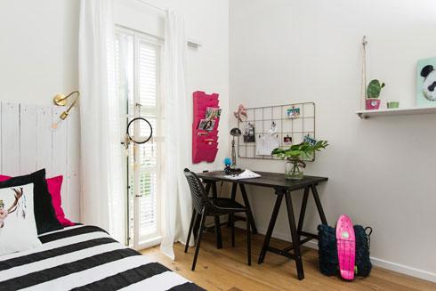 אחרי: חדר שמתאים לנערה (צילום: שירן כרמל)