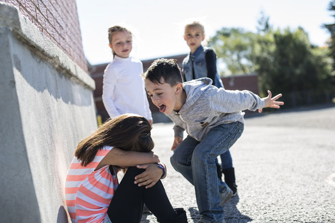 """""""ילדים יכולים להיות אכזריים"""". צילום אילוסטרציה (צילום: Shutterstock)"""