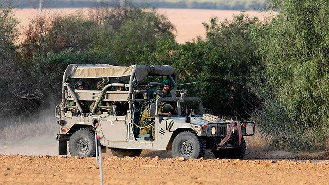 נערכים לתרחישי התגובה מצד הג'יהאד הפלסטיני (צילום: AFP) (צילום: AFP)