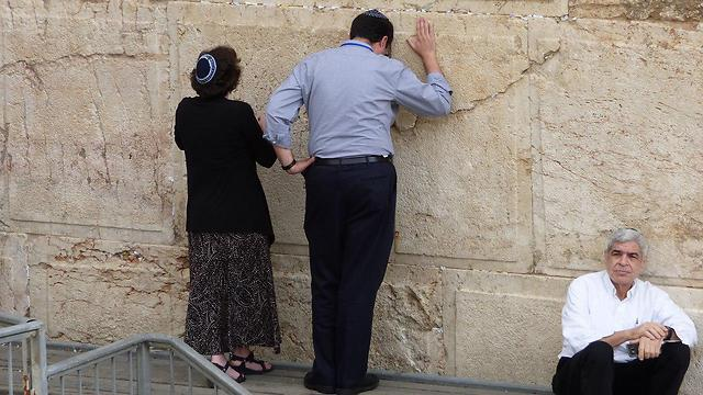 The pluralist section of the Western Wall (Photo: David Shechter)
