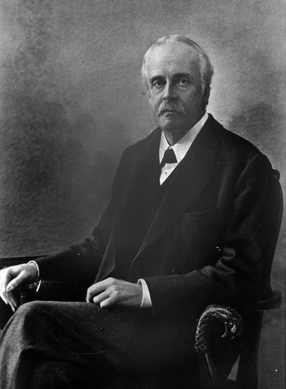 ארתור בלפור 1925 (צילום: לע
