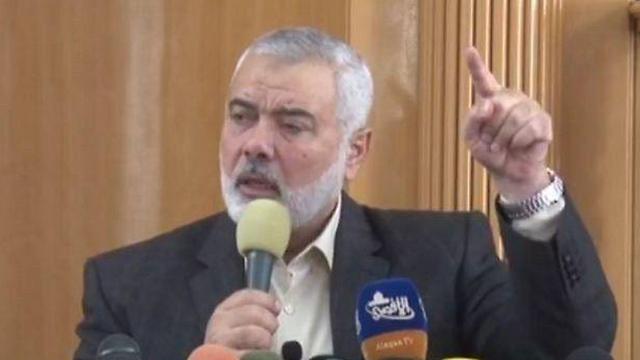 Hamas leader Ismail Haniyeh: a moderate response