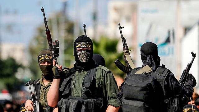 PIJ militants (Photo: AFP)