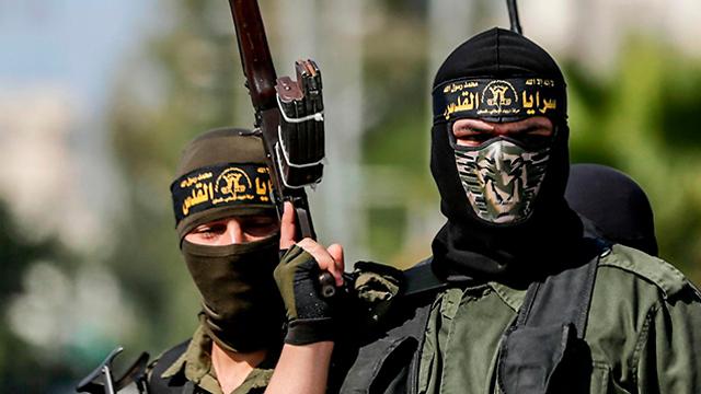 Des militants du Jihad islamique (Photo: AFP)