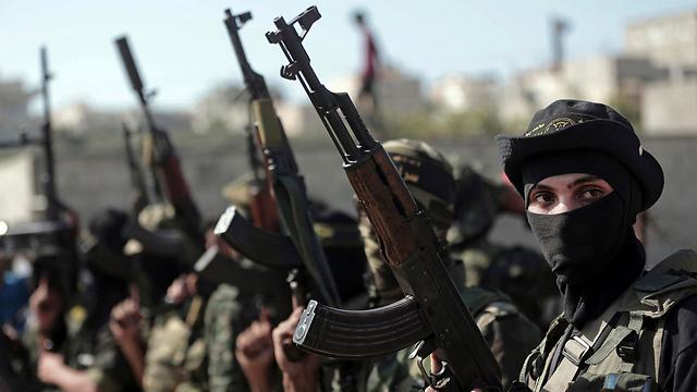 Islamic Jihad Fighters (Photo: AP)