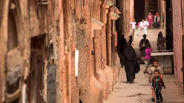 הרובע היהודי במרקש (צילום: AFP) (צילום: AFP)
