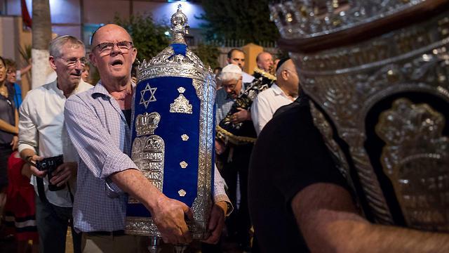 החוקה קובעת שהיהדות היא חלק מהמורשת המרוקאית. ברובע היהודי במרקש (צילום: AFP) (צילום: AFP)