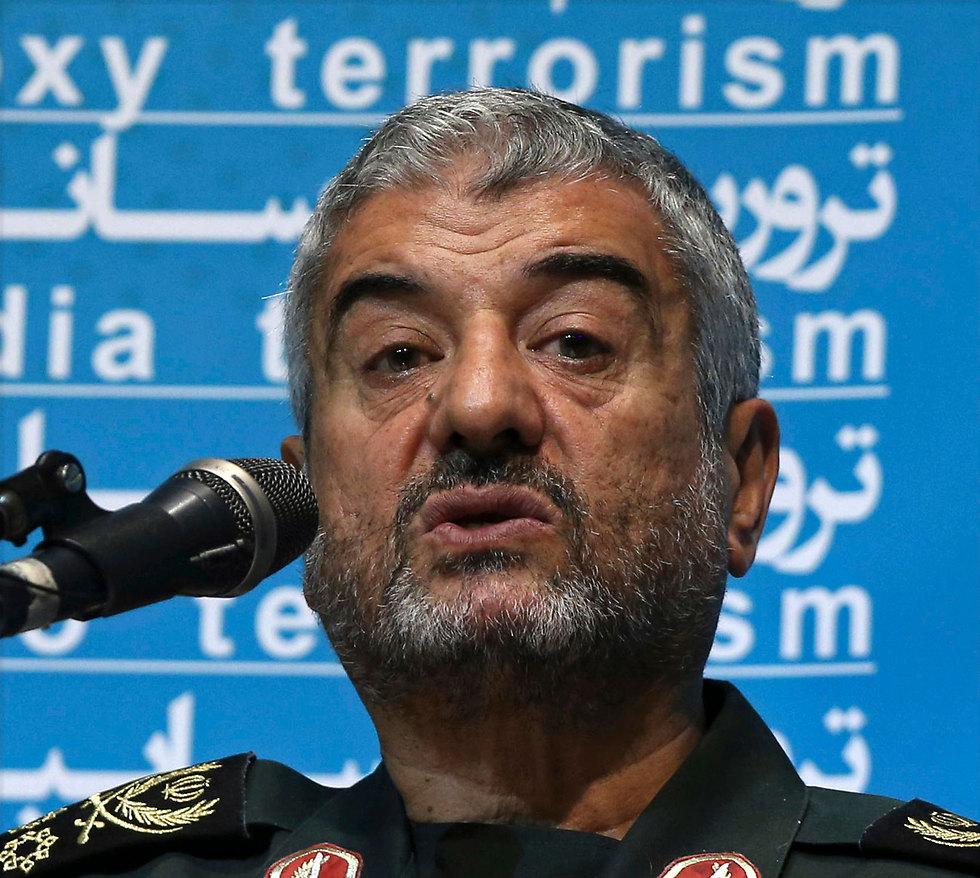 Islamic Revolutionary Guards Commander Maj.-Gen. Jafari (Photo: AP)