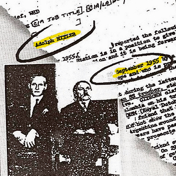 CIA documents about Hitler (Photo: Yedioth Ahronoth)