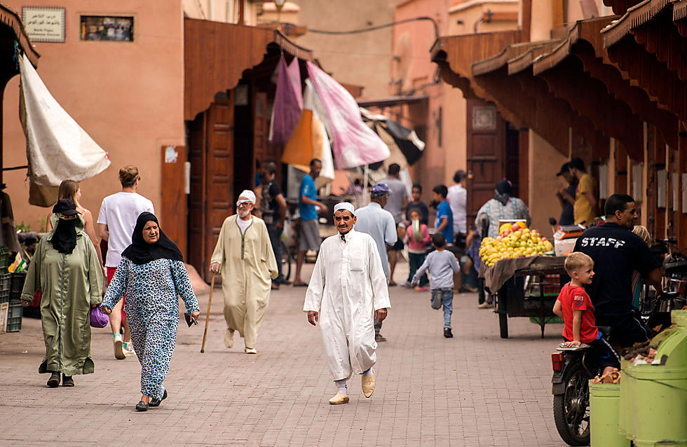 Around 100 Jews are thought to remain in Marrakesh, many of them extremely elderly (Photo: AFP)