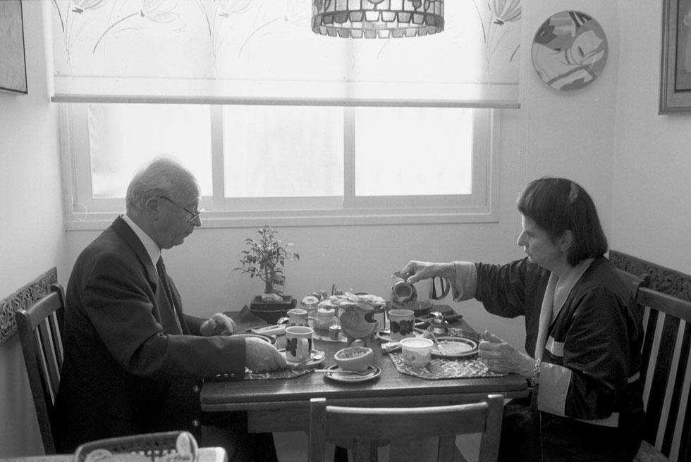 Завтрак с женой, 1994 год