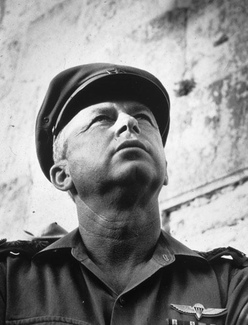 У Стены плача в Шестидневную войну, 1967 год