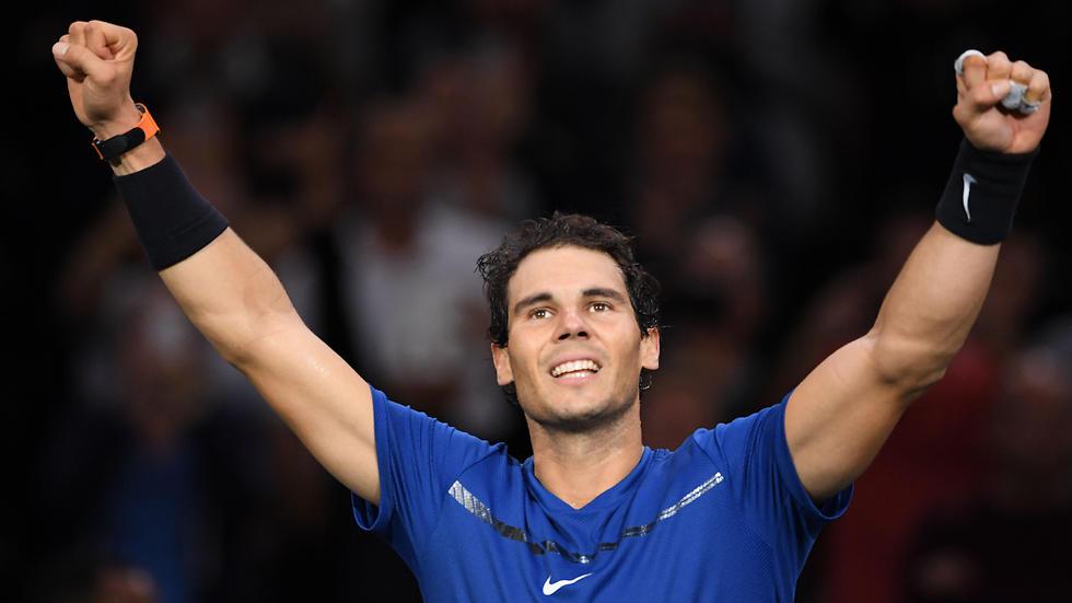 חזר כמו שור. נדאל (צילום: AFP)