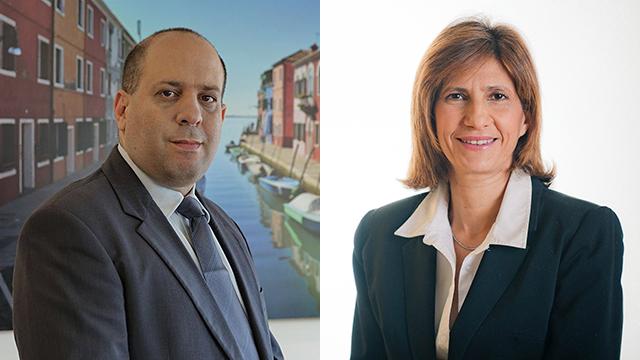 """עורכי הדין אלונה בומגרטן ורון חכים (צילום: אורן שליו ויח""""צ) (צילום: אורן שליו ויח"""