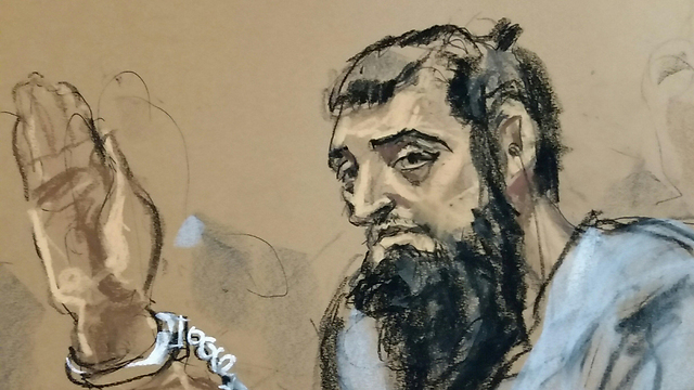 Sayfullo Saipov in court (Photo: Reuters)
