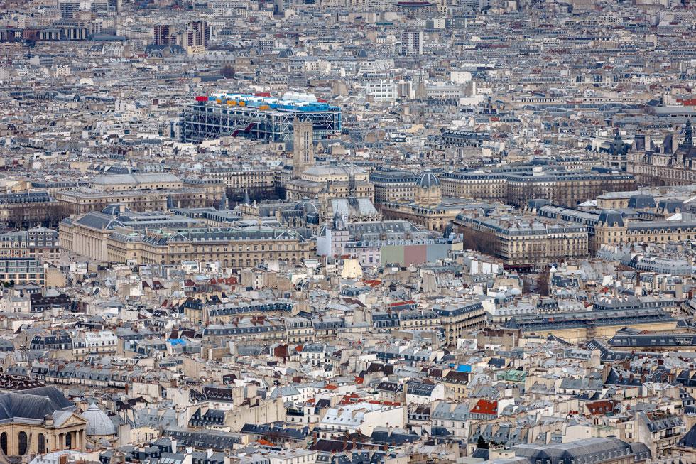 כדי להבין את הזעקה של הצרפתים כנגד ההצעה של רוג'רס ופיאנו, שגברה בתחרות בינלאומית על 680 מתמודדים אחרים, מספיק לראות את התמונה הזו (צילום: Shutterstock)