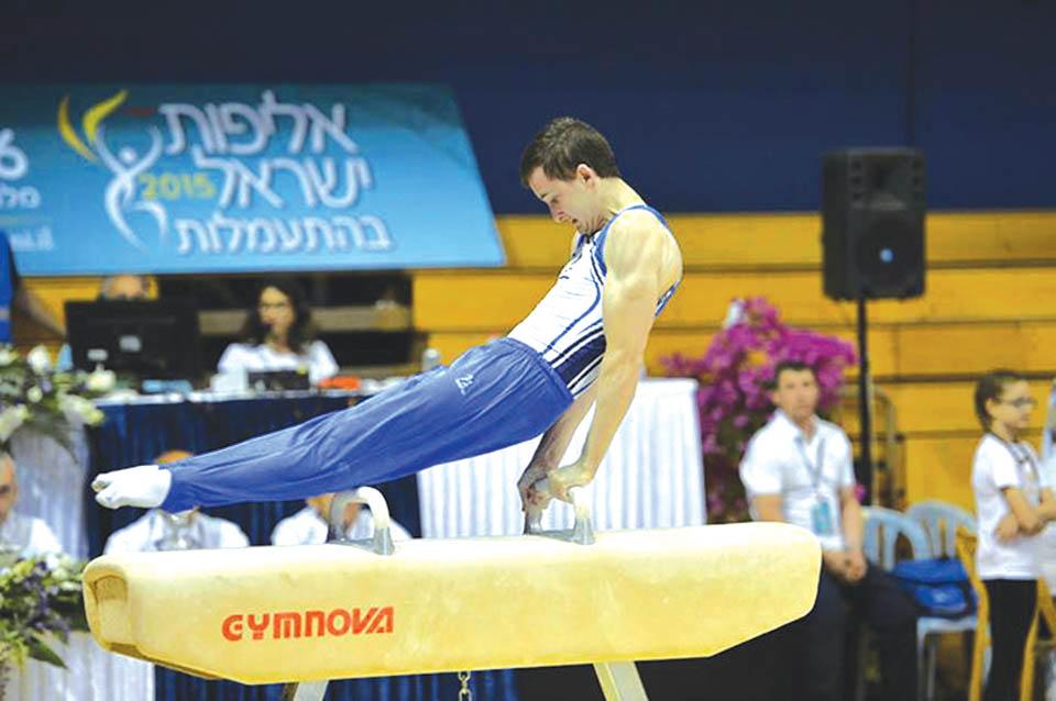 Во время выступления. Фото: Гимнастическое общество Израиля