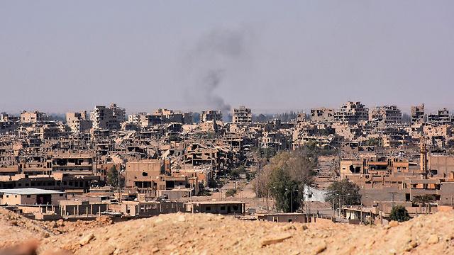 הלחימה בדיר א-זור, ארכיון (צילום: AFP) (צילום: AFP)