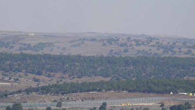 The Israel-Syria border