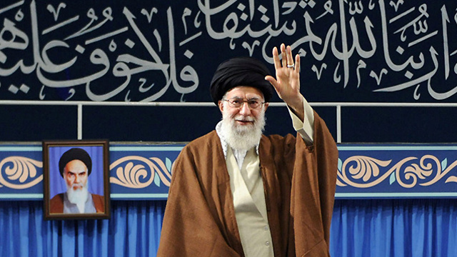 Khamenei. 'Iran has no intention to abandon the oppressed nations in the region' (Photo: Reuters)