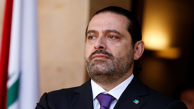 In a televised address, ex-PM Hariri accused Iran of meddling in Lebanon's affairs by using Hezbollah as a proxy (Photo: Reuters)