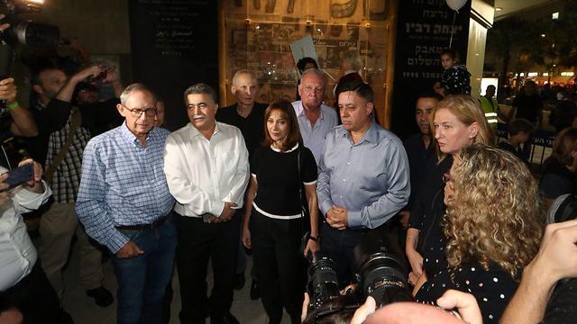 הטקס של המחנה הציוני, הערב בתל אביב (צילום: מוטי קמחי) (צילום: מוטי קמחי)