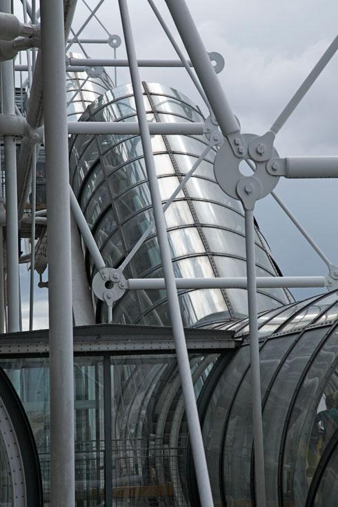 האדריכלים אמרו כי לא מדובר בהתרסה לשם התרסה (צילום: Ph Migeat, Courtesy Centre Pompidou)