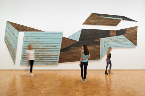 כיום מתגאה המרכז באוסף השני בגודלו בעולם של אמנות מודרנית, אבל זו לא הייתה התפישה המקורית (צילום: Manuel Braun, Courtesy Centre Pompidou)