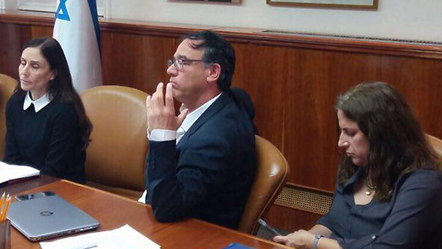 State Attorney Shai Nitzan at the Ministerial Committee for Legislation