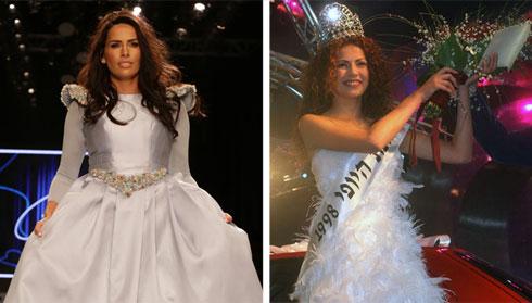 """לינור אברג'יל, שזכתה במקום הראשון בתחרות """"מיס עולם"""" (צילומים: משה מילנר / לע""""מ, אבי ולדמן)"""