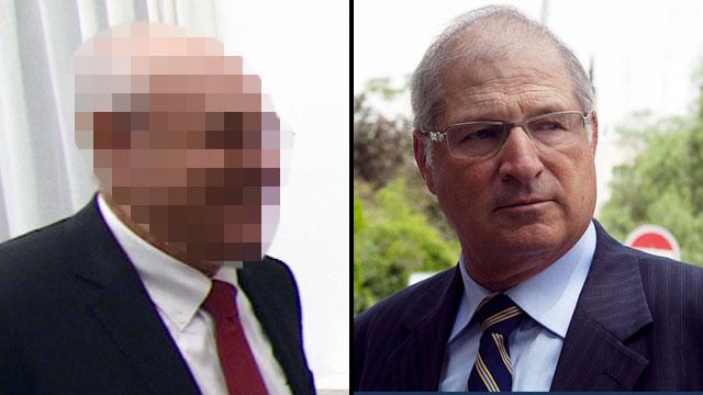 """עו""""ד שמרון והמקורב הנוסף לראש הממשלה (צילום: לע""""מ, אוהד צויגנברג)"""