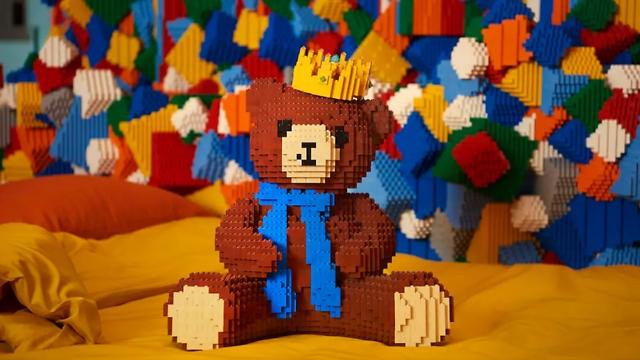 דובי מלגו (צילום: LEGO) (צילום: LEGO)