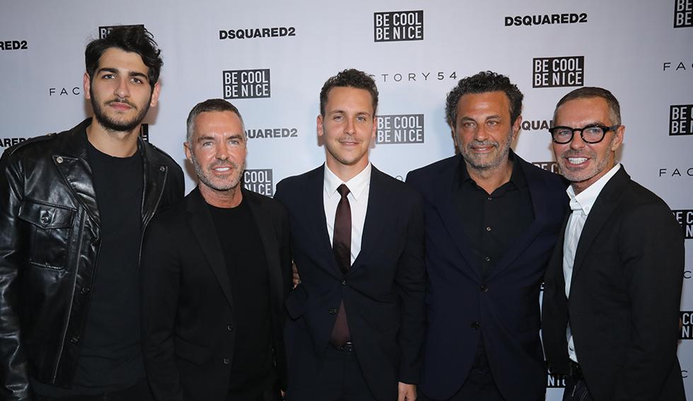 משמאל לימין: דין קייטן, רוני אירני, תומר אירני, דן קייטן ודור אירני (צילום רפי דלויה)