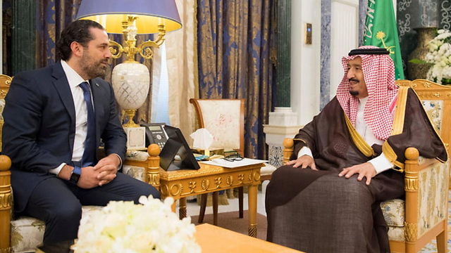 PM Hariri speaks with King of Saudi Arabia Salman (Photo: EPA)