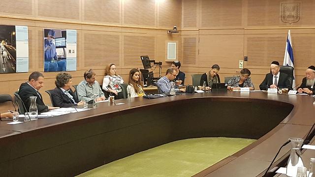 Заседание комиссии. Фото: пресс-служба кнессета
