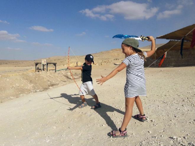 אתם שלחתם: אביגיל בת 7 ואיתן בן 4: אוהבים לטייל יחד בארץ