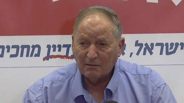 Teachers' Association Chairman Ran Erez (Photo: Nitzan Dror)