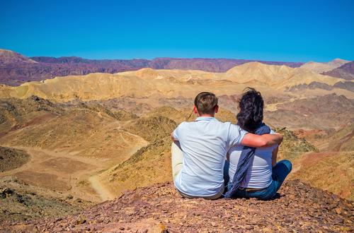 Влюбленные около Эйлата (Израиль). Фото: shutterstock