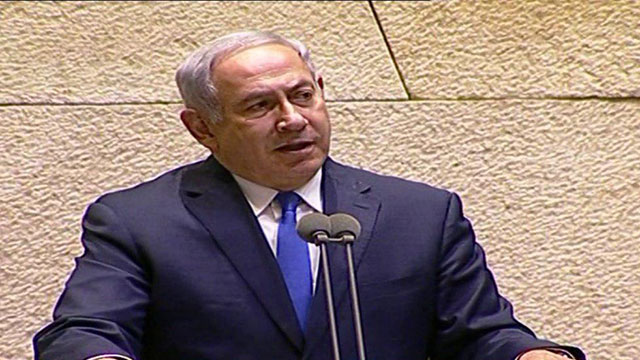 PM Netanyahu said it was plain to see Israel was drawing closer to moderate Arab states (Courtesy of the Knesset Channel)