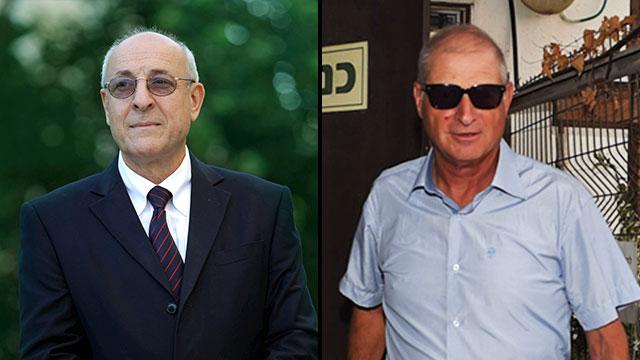 Attorneys Yitzhak Molcho (L) and David Shimron