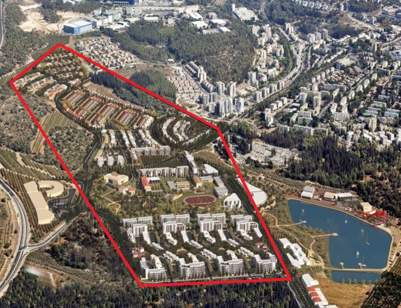 הדמייה של השכונה החדשה בצפון העיר (צילומים: באדיבות עיריית מגדל העמק) (צילומים: באדיבות עיריית מגדל העמק)