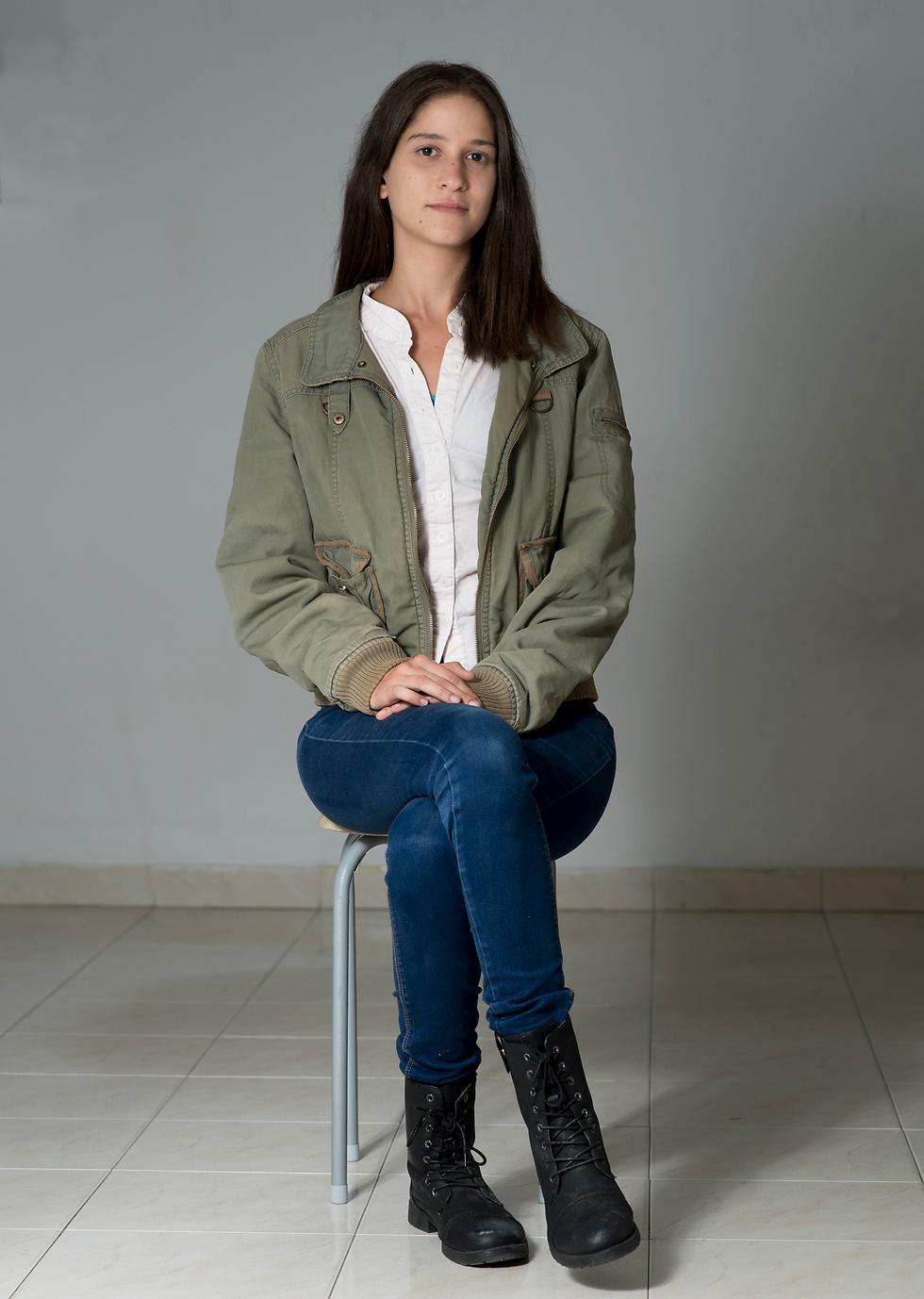 בר לביא, עוזרת ההוראה שהותקפה מינית (צילום: יובל חן) (צילום: יובל חן)