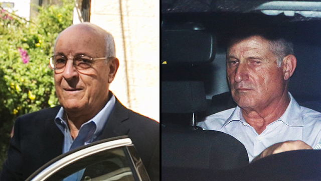 Business partners Molcho (L) and Shimron are also allegedly involved in wrongdoing (Photo: Ohad Zwigenberg, Yariv Katz)
