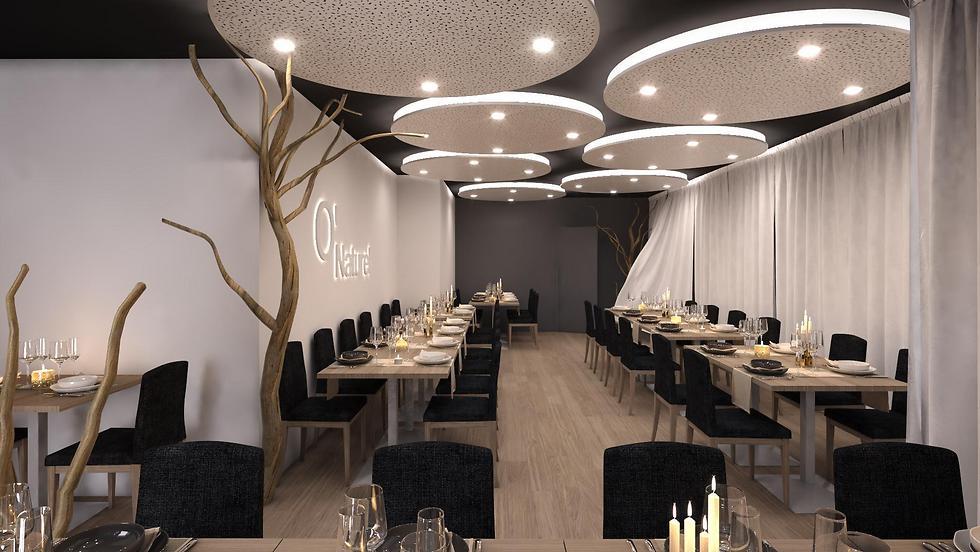 """גן עדן לנודיסטים. מסעדת """"או-נטורל"""" (צילום: יח""""צ)"""