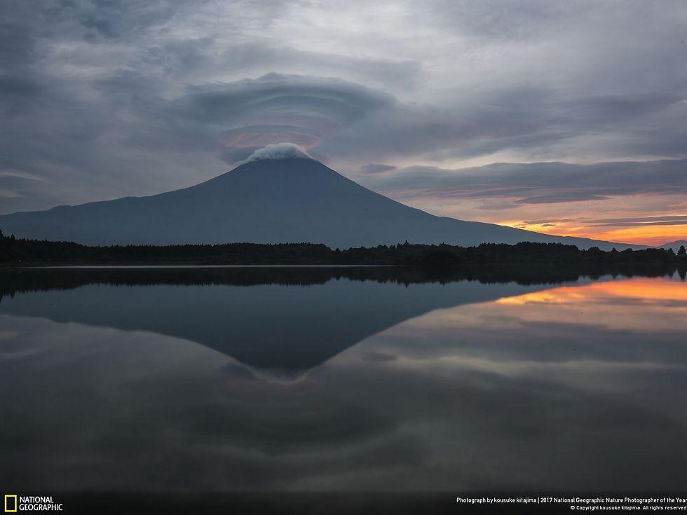 השתקפות בוקר (צילום: Kousuke Kitajima)
