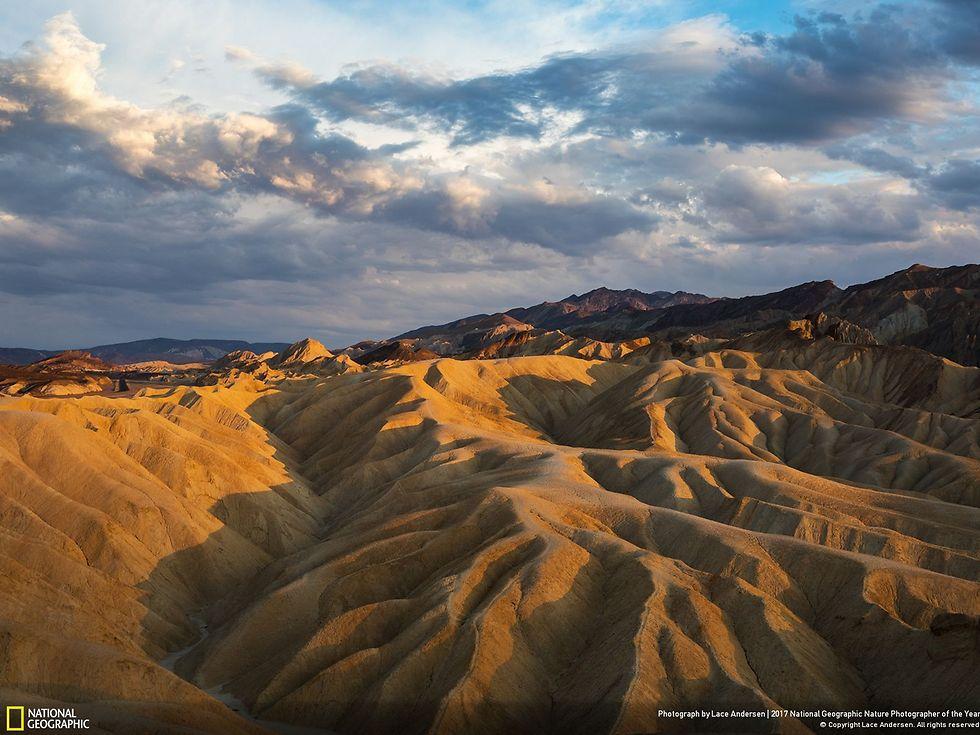 הפארק הלאומי עמק המוות, קליפורניה (צילום: Lace Andersen)