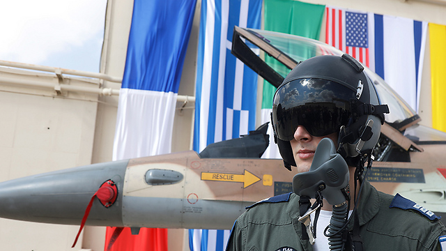 Israeli Air Force pilot (Photo: Shaul Golan)